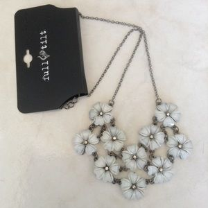 New Floral Statement Necklace